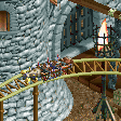 Battering Ram Coaster RCT2 Icon