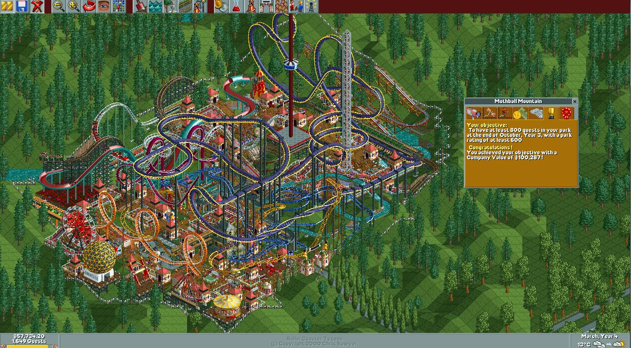 Mystic Mountain/Scenario Guide | RollerCoaster Tycoon