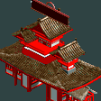 Japanese Park Entrance RCT2 Icon