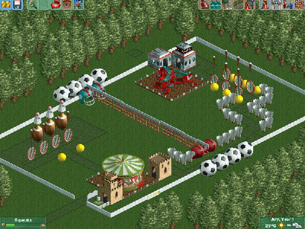 Sports Themeing RCT2 Overview