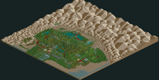 Build Your Own Six Flags Magic Mountain RCT2