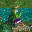 Sea Food Stall RCT2 Icon