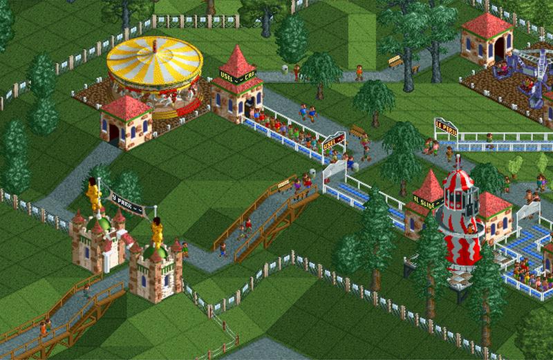 Pokey Park | RollerCoaster Tycoon | FANDOM powered by Wikia