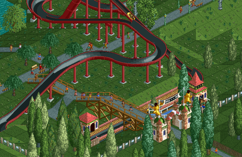White Water Park | RollerCoaster Tycoon | FANDOM powered by