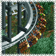 4-Across Inverted Roller Coaster RCT1 Icon