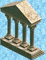 Roman Palace End Piece 1