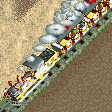 Maharaja Steam Train RCT2 Icon