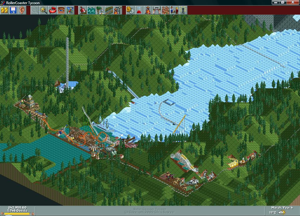 Grand Glacier/Scenario Guide   RollerCoaster Tycoon   FANDOM powered