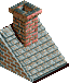 Red Brick Roof Piece 3