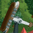 Swinging Inverter Ship RCT2 Icon