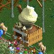 Ice Cream Cone Stall RCT2 Icon