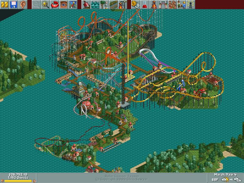 Trinity Islands/Scenario Guide | RollerCoaster Tycoon