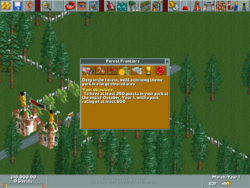 RollerCoasterTycoon-ForestFrontiers-Objective