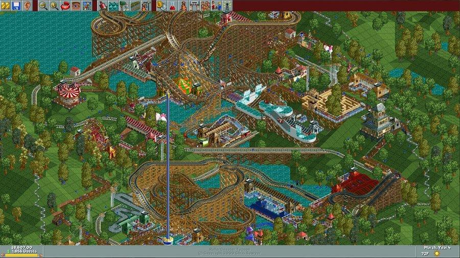 Woodworm Park/Scenario Guide | RollerCoaster Tycoon | FANDOM