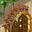 Boomerang Coaster RCT2 Icon