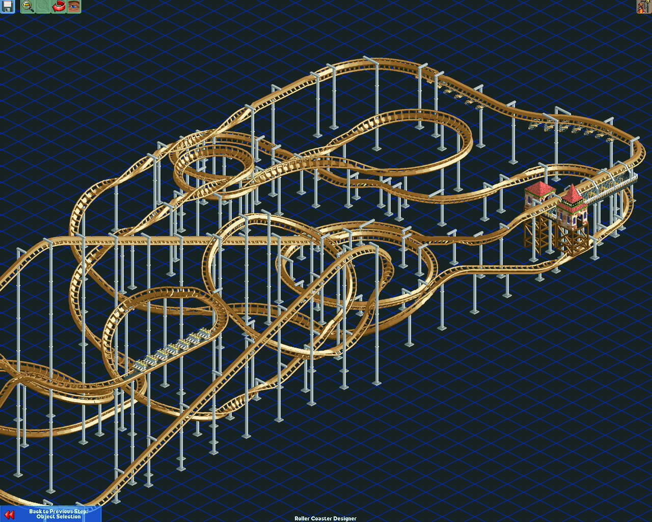 how to build tunnels in roller coaster tycoon 2