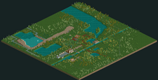 Build Your Own Six Flags Holland RCT2