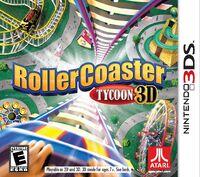 RollerCoaster Tycoon 3D box art