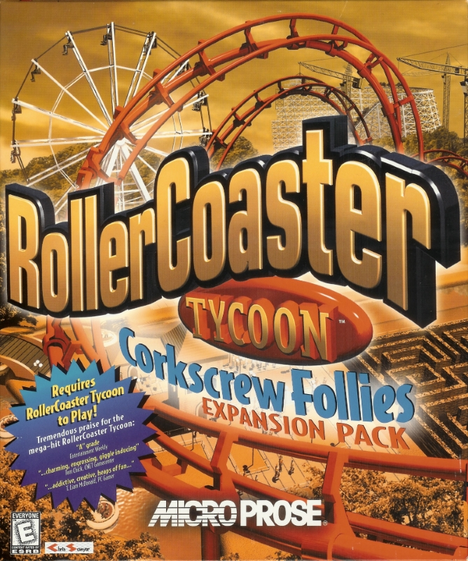 Added Attractions | RollerCoaster Tycoon | FANDOM powered by