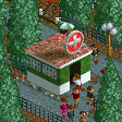 First Aid Room RCT2 Icon