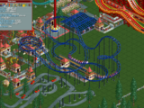 Steel Mini Roller Coaster