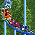 Gangster Car Coaster RCT2 Icon