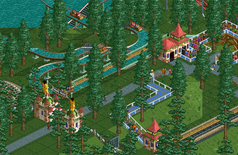 Diamond Heights | RollerCoaster Tycoon | FANDOM powered by Wikia