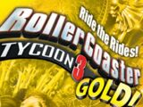 RollerCoaster Tycoon 3 Gold!