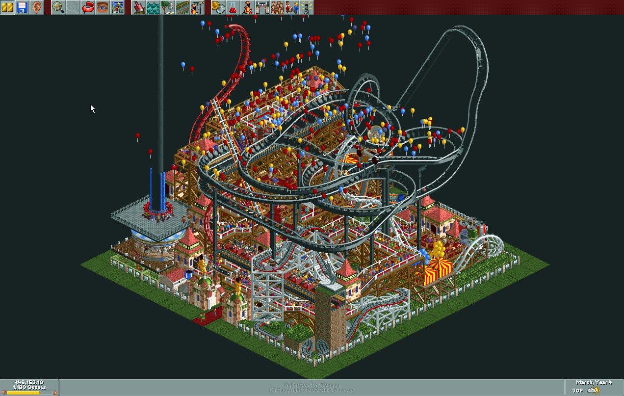 Micro Park/Scenario Guide | RollerCoaster Tycoon | FANDOM powered by