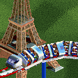 TGV Train Roller Coaster RCT2 Icon