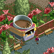 Hot Chocolate Stall RCT2 Icon