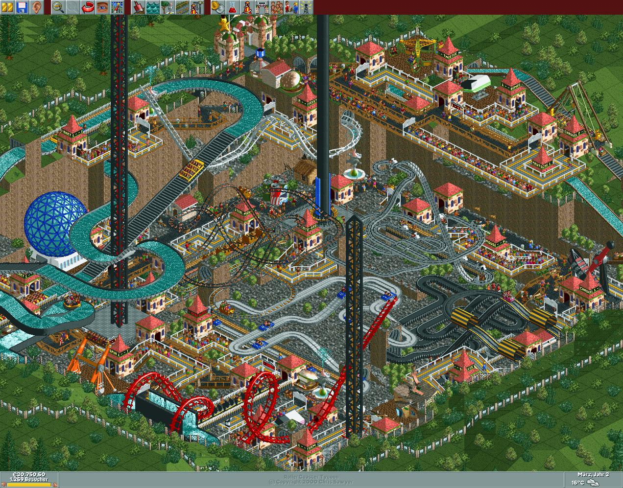 Mineral Park/Scenario Guide | RollerCoaster Tycoon | FANDOM powered