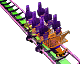 Extended Coaster RCT3 Icon