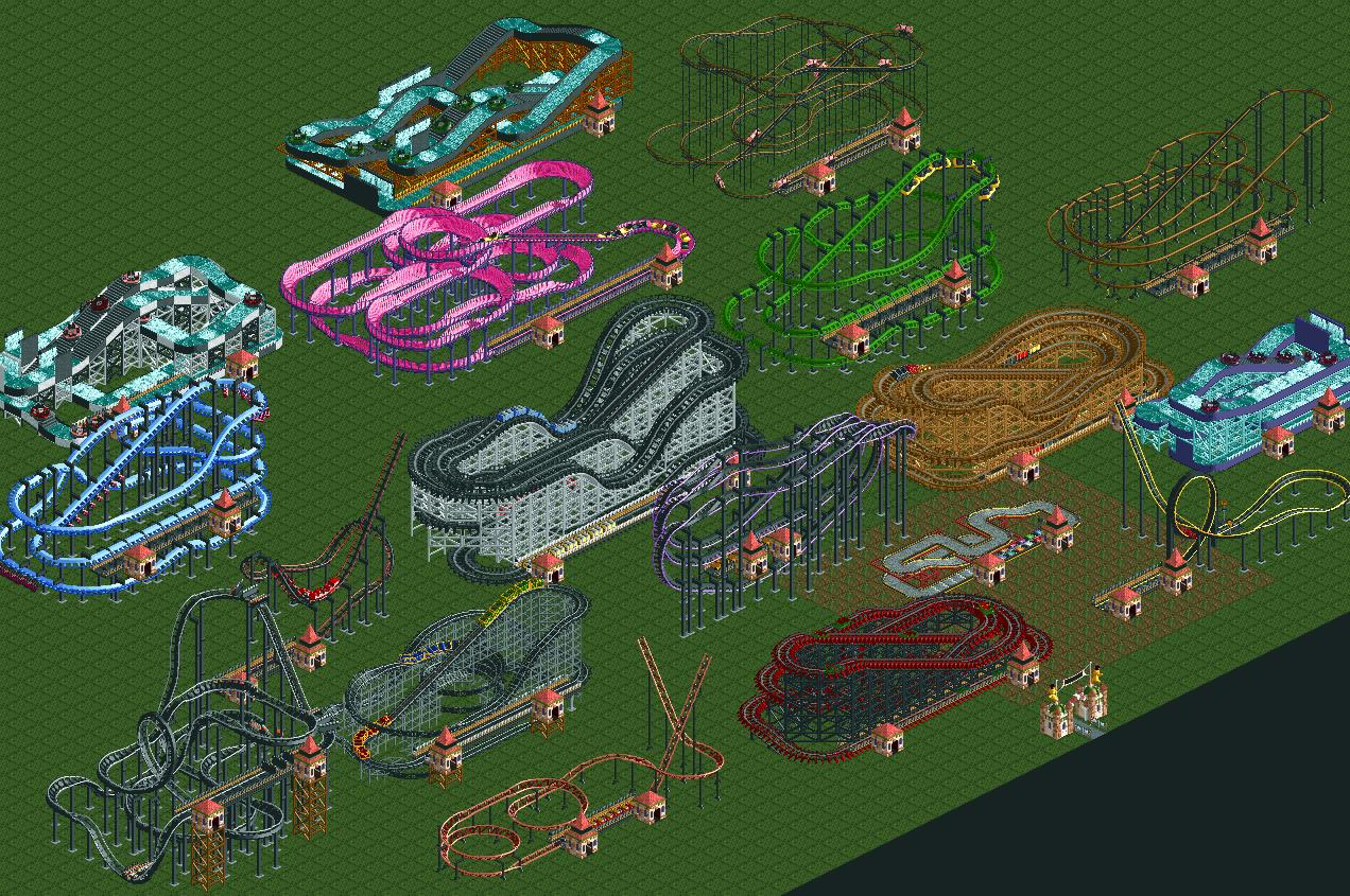 RollerCoaster Tycoon:Ride Exchange/sucinum's Rides