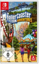 RollerCoaster Tycoon Adventures (Switch, Germany) game case