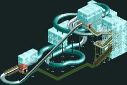 Ice Flow (Dinghy Slide)
