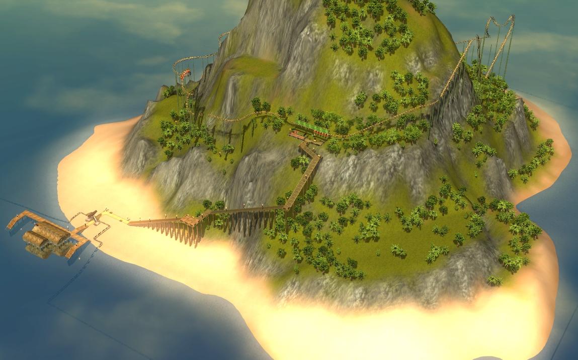 Paradise Islands | RollerCoaster Tycoon | FANDOM powered by Wikia