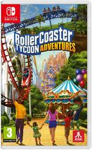 RollerCoaster Tycoon Adventures (Switch, UK) game case
