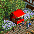 Toffee Apple Market Stall RCT2 Icon