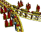 Splitting Coaster RCT3 Icon