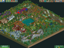 Fungus Woods RCT2 2