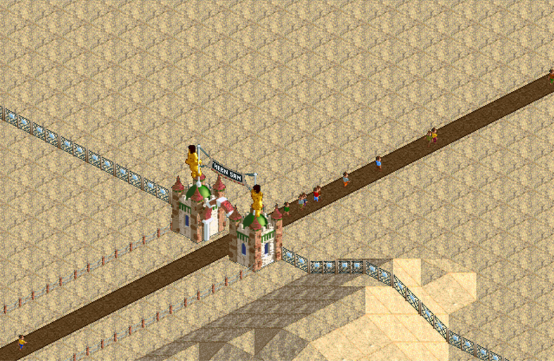 Southern Sands   RollerCoaster Tycoon   FANDOM powered by Wikia