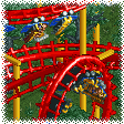 Lay-down Roller Coaster RCT1 Icon