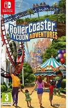 RollerCoaster Tycoon Adventures (Switch, Spain) boxart