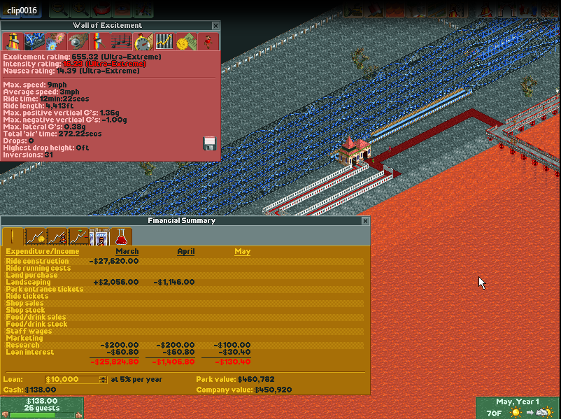 List of RollerCoaster Tycoon glitches | RollerCoaster Tycoon