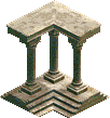 Roman Palace Corner Piece 2