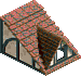 Tudor Roof Piece 3