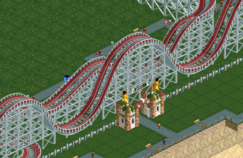 Bumbly Beach | RollerCoaster Tycoon | FANDOM powered by Wikia