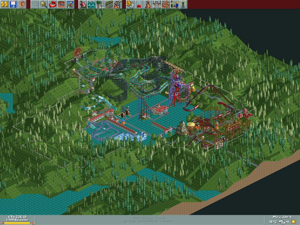 Rollercoaster Tycoon  Build Multiple