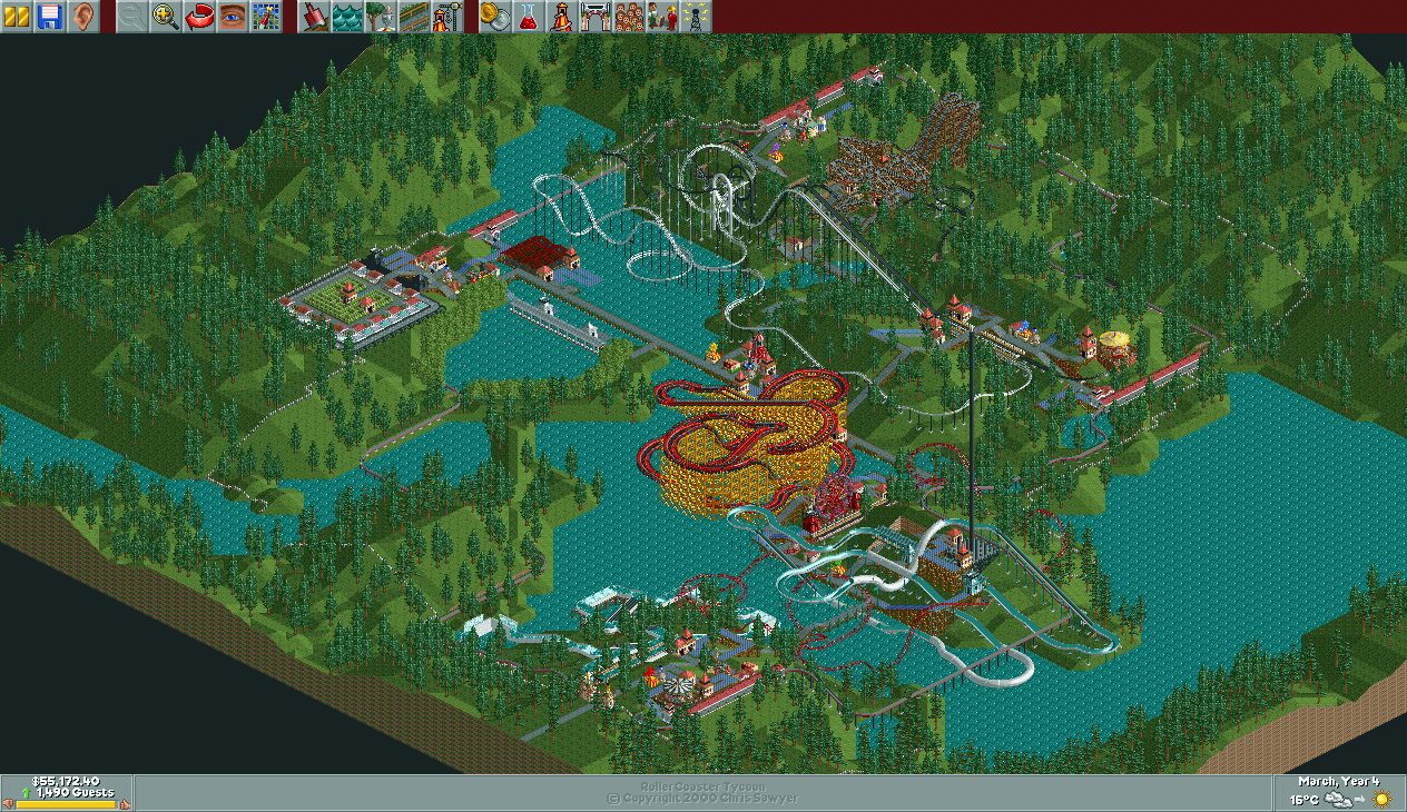 Diamond Heights/Scenario Guide | RollerCoaster Tycoon